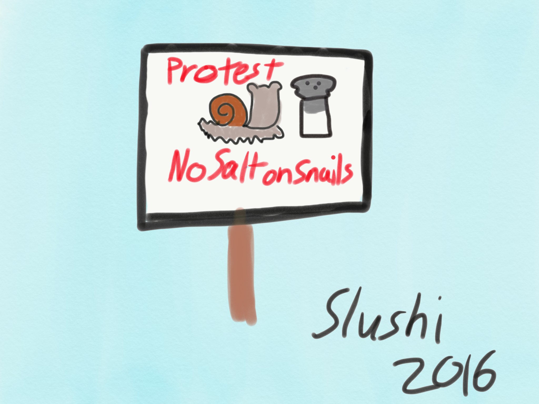 Snail Protest