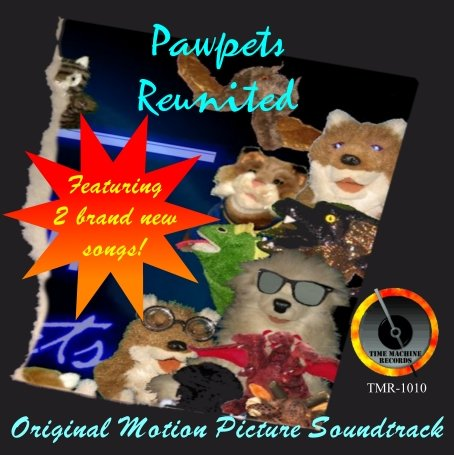 Pawpets Reunited Soundtrack CD